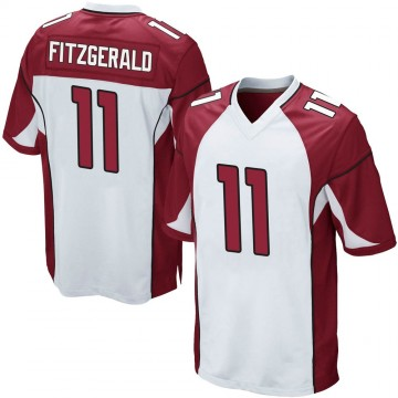 Youth Nike Arizona Cardinals Larry Fitzgerald White Jersey - Game