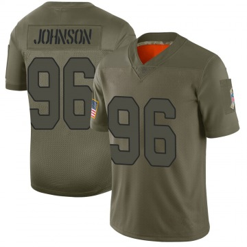 Youth Nike Arizona Cardinals Lyndon Johnson Camo 2019 Salute to Service Jersey - Limited