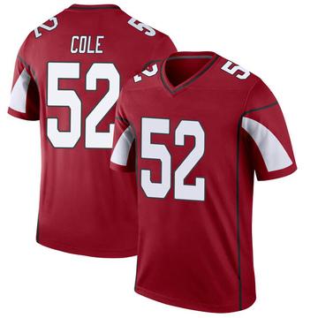 Youth Nike Arizona Cardinals Mason Cole Cardinal Jersey - Legend