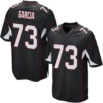 Youth Nike Arizona Cardinals Max Garcia Black Alternate Jersey - Game