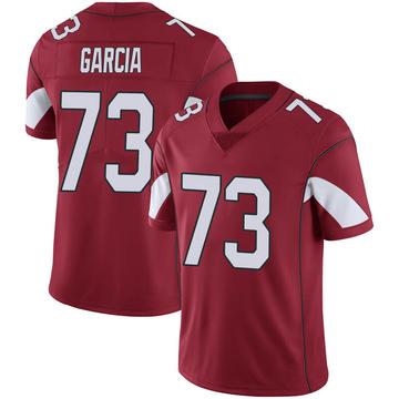 Youth Nike Arizona Cardinals Max Garcia Cardinal 100th Vapor Jersey - Limited