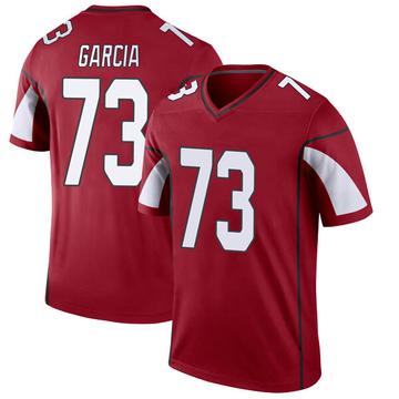 Youth Nike Arizona Cardinals Max Garcia Cardinal Jersey - Legend