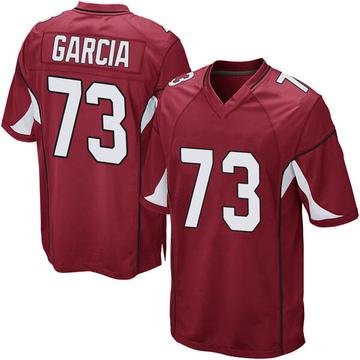 Youth Nike Arizona Cardinals Max Garcia Cardinal Team Color Jersey - Game