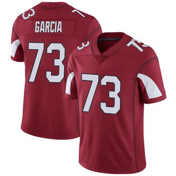 Youth Nike Arizona Cardinals Max Garcia Cardinal Team Color Vapor Untouchable Jersey - Limited