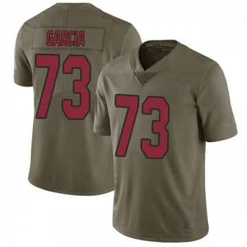 Youth Nike Arizona Cardinals Max Garcia Green 2017 Salute to Service Jersey - Limited