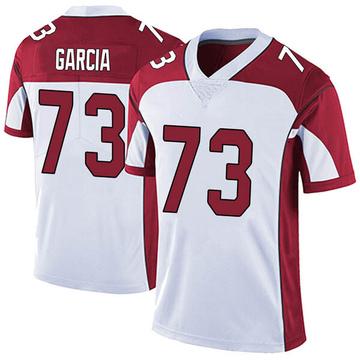 Youth Nike Arizona Cardinals Max Garcia White Vapor Untouchable Jersey - Limited