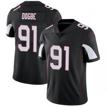 Youth Nike Arizona Cardinals Michael Dogbe Black Vapor Untouchable Jersey - Limited
