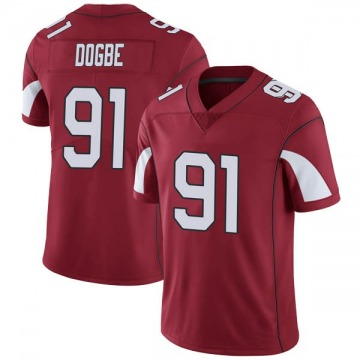 Youth Nike Arizona Cardinals Michael Dogbe Cardinal Team Color Vapor Untouchable Jersey - Limited