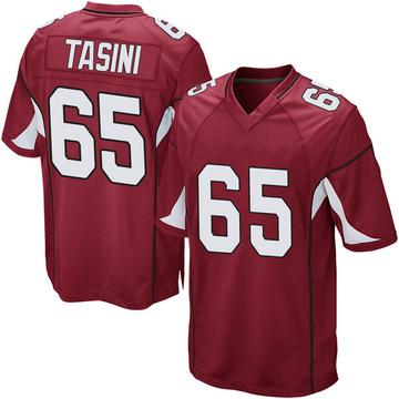 Youth Nike Arizona Cardinals Pasoni Tasini Cardinal Team Color Jersey - Game