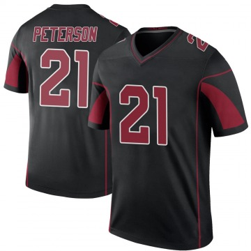 Youth Nike Arizona Cardinals Patrick Peterson Black Color Rush Jersey - Legend
