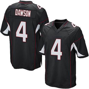 Youth Nike Arizona Cardinals Phil Dawson Black Alternate Jersey - Game