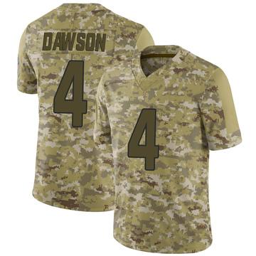 Youth Nike Arizona Cardinals Phil Dawson Camo 2018 Salute to Service Jersey - Limited
