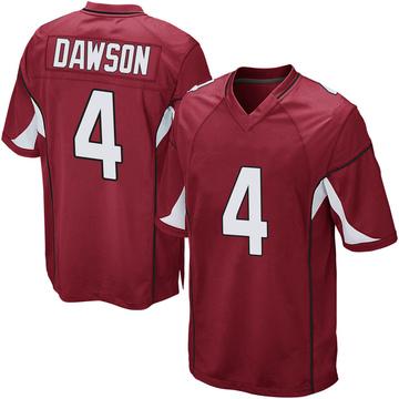Youth Nike Arizona Cardinals Phil Dawson Cardinal Team Color Jersey - Game