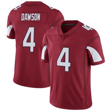 Youth Nike Arizona Cardinals Phil Dawson Cardinal Team Color Vapor Untouchable Jersey - Limited