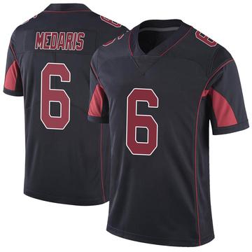 Youth Nike Arizona Cardinals Rashad Medaris Black Color Rush Vapor Untouchable Jersey - Limited