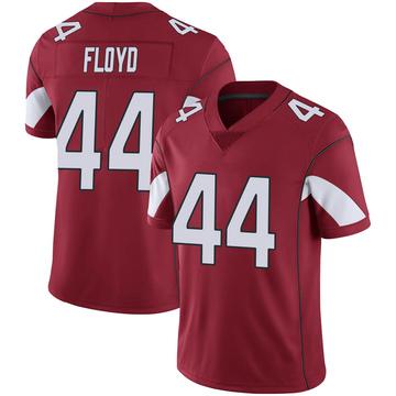 Youth Nike Arizona Cardinals Reggie Floyd Cardinal 100th Vapor Jersey - Limited