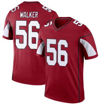 Youth Nike Arizona Cardinals Reggie Walker Cardinal Jersey - Legend