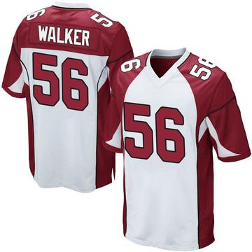 Youth Nike Arizona Cardinals Reggie Walker White Jersey - Game