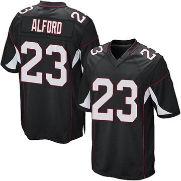 Youth Nike Arizona Cardinals Robert Alford Black Alternate Jersey - Game