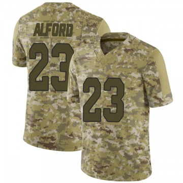 Youth Nike Arizona Cardinals Robert Alford Camo 2018 Salute to Service Jersey - Limited