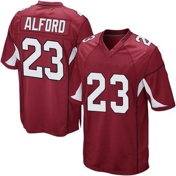 Youth Nike Arizona Cardinals Robert Alford Cardinal Team Color Jersey - Game