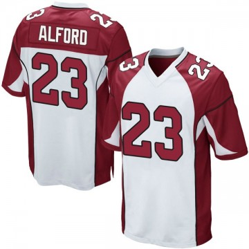 Youth Nike Arizona Cardinals Robert Alford White Jersey - Game