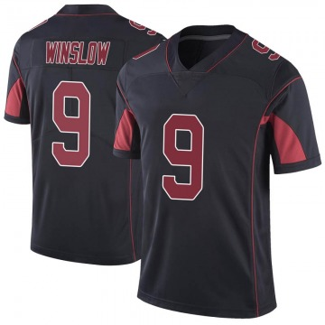 Youth Nike Arizona Cardinals Ryan Winslow Black Color Rush Vapor Untouchable Jersey - Limited