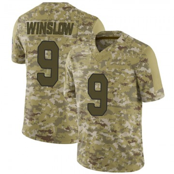 Youth Nike Arizona Cardinals Ryan Winslow Camo 2018 Salute to Service Jersey - Limited