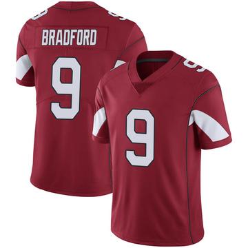 Youth Nike Arizona Cardinals Sam Bradford Cardinal 100th Vapor Jersey - Limited