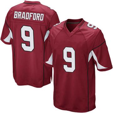 Youth Nike Arizona Cardinals Sam Bradford Cardinal Team Color Jersey - Game