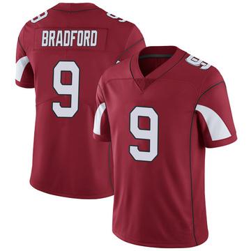 Youth Nike Arizona Cardinals Sam Bradford Cardinal Team Color Vapor Untouchable Jersey - Limited