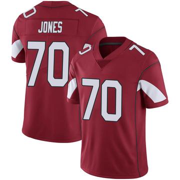 Youth Nike Arizona Cardinals Sam Jones Cardinal 100th Vapor Jersey - Limited