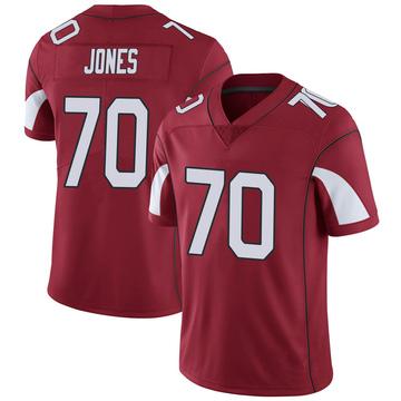 Youth Nike Arizona Cardinals Sam Jones Cardinal Team Color Vapor Untouchable Jersey - Limited