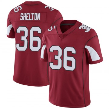 Youth Nike Arizona Cardinals Sojourn Shelton Cardinal Team Color Vapor Untouchable Jersey - Limited