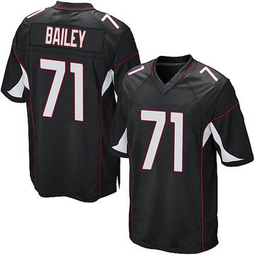Youth Nike Arizona Cardinals Sterling Bailey Black Alternate Jersey - Game