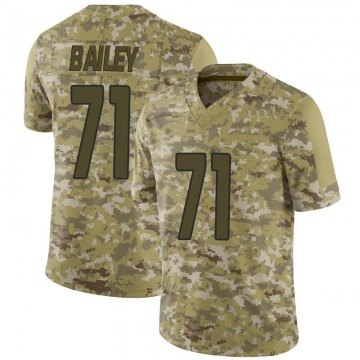 Youth Nike Arizona Cardinals Sterling Bailey Camo 2018 Salute to Service Jersey - Limited