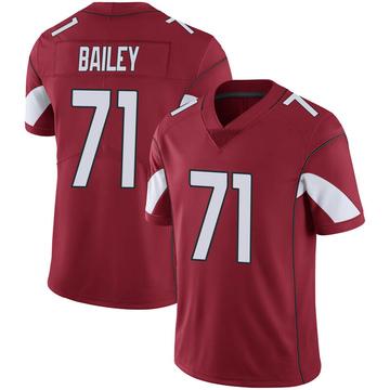 Youth Nike Arizona Cardinals Sterling Bailey Cardinal 100th Vapor Jersey - Limited