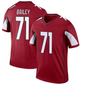 Youth Nike Arizona Cardinals Sterling Bailey Cardinal Jersey - Legend