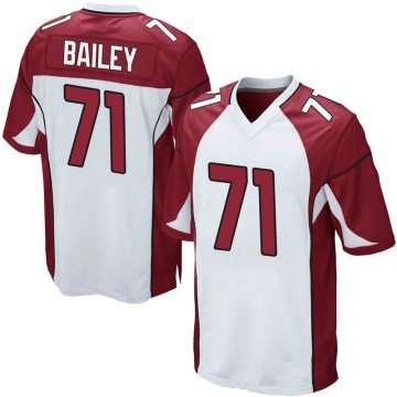 Youth Nike Arizona Cardinals Sterling Bailey White Jersey - Game