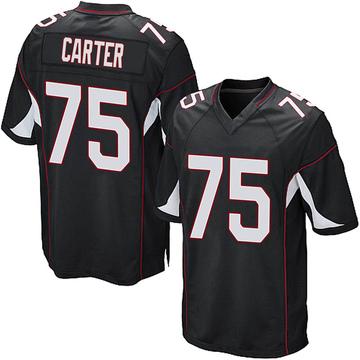 Youth Nike Arizona Cardinals T.J. Carter Black Alternate Jersey - Game