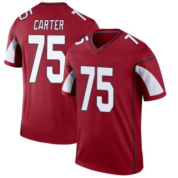 Youth Nike Arizona Cardinals T.J. Carter Cardinal Jersey - Legend