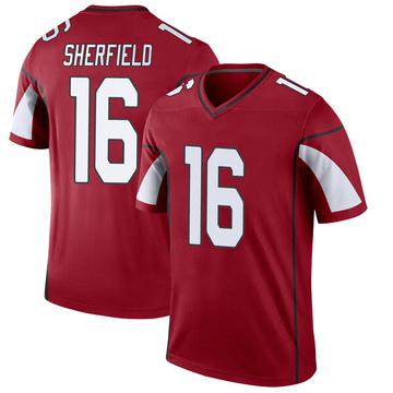 Youth Nike Arizona Cardinals Trent Sherfield Cardinal Jersey - Legend