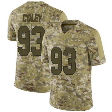 Youth Nike Arizona Cardinals Trevon Coley Camo 2018 Salute to Service Jersey - Limited