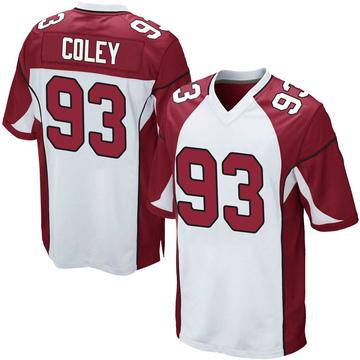 Youth Nike Arizona Cardinals Trevon Coley White Jersey - Game