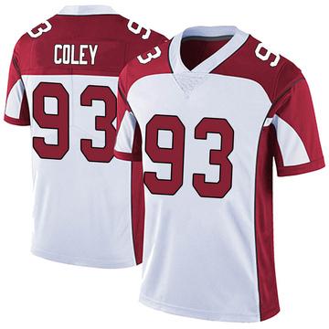 Youth Nike Arizona Cardinals Trevon Coley White Vapor Untouchable Jersey - Limited
