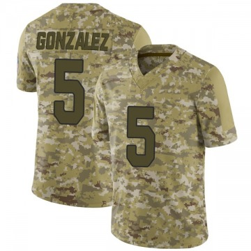 Youth Arizona Cardinals Zane Gonzalez Camo 2018 Salute to Service Jersey - Limited