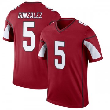 Youth Nike Arizona Cardinals Zane Gonzalez Cardinal Jersey - Legend