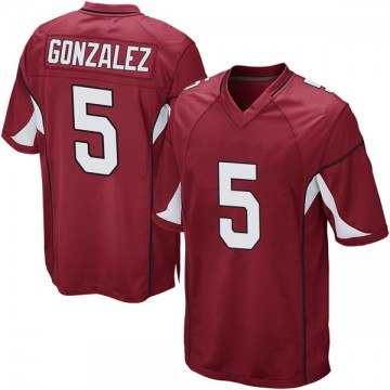 Youth Nike Arizona Cardinals Zane Gonzalez Cardinal Team Color Jersey - Game