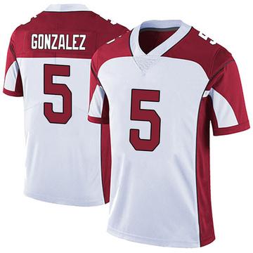 Youth Nike Arizona Cardinals Zane Gonzalez White Vapor Untouchable Jersey - Limited