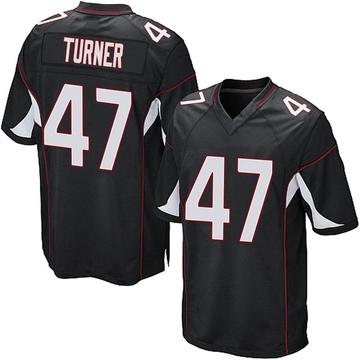 Youth Nike Arizona Cardinals Zeke Turner Black Alternate Jersey - Game